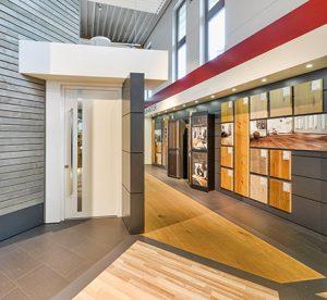 Ausstellungswelt bei Holz-Hauff in Leingarten