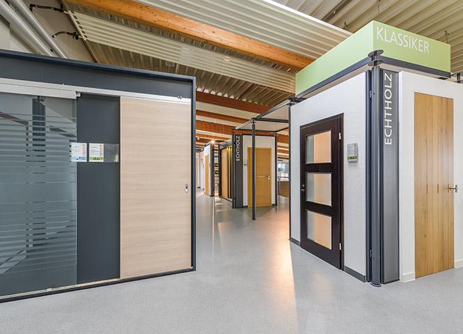 Türen Ausstellung von Holz-Hauff in Leingarten