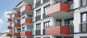 Balkon in rot von Holz-Hauff in Leingarten