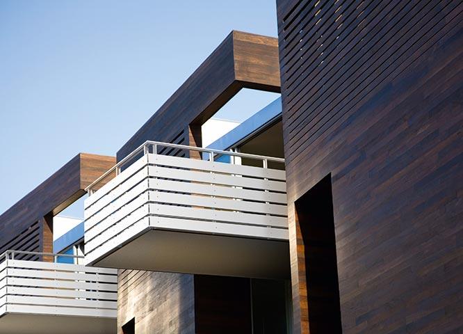 Bauen mit Balkonen von Holz-Hauff in Leingarten