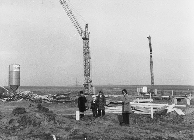 Geschichte von Holz-Hauff in Leingarten mit Baubeginn