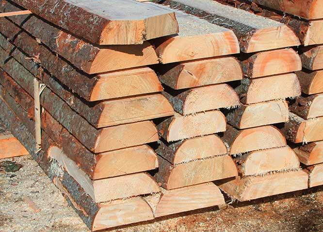 Blockware Qualität von Holz-Hauff in Leingarten