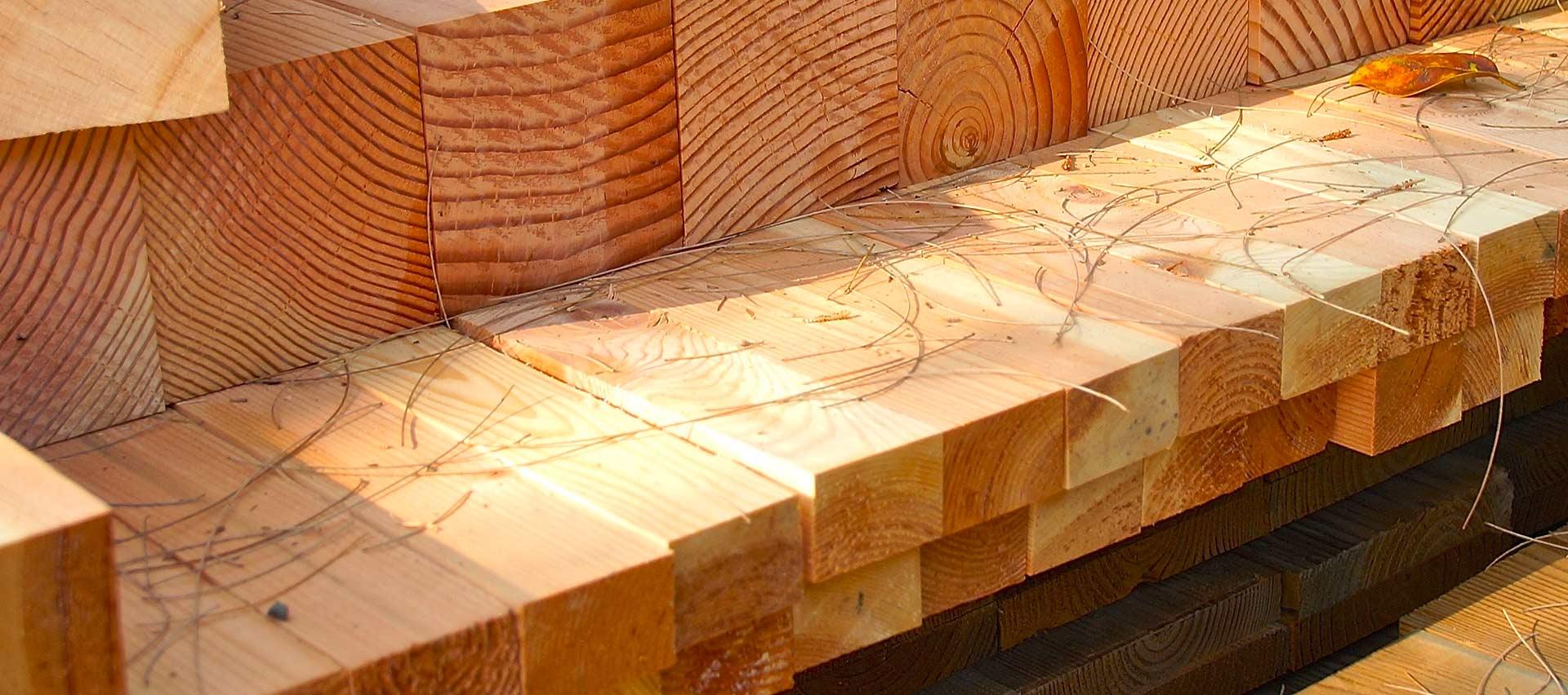 Bauholz aus Kantenholz von Holz-Hauff in Leingarten