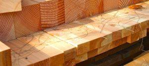 Kanthölzer Detail von Holz-Hauff in Leingarten