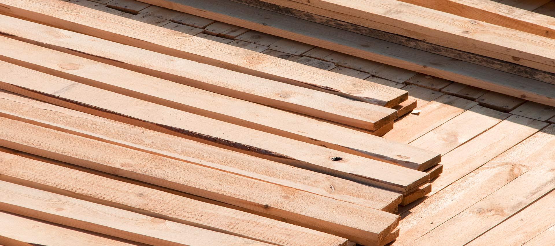 Latten zum Bauen von Holz-Hauff in Leingarten