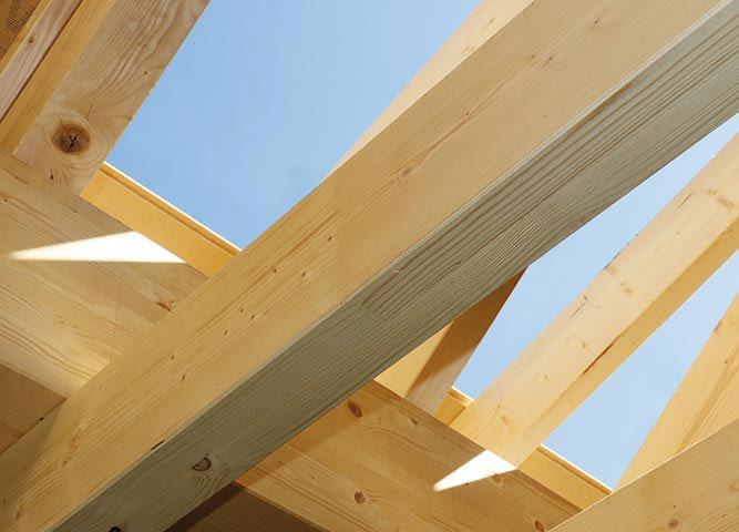 Bauen mit Bauholz von Holz-Hauff in Leingarten