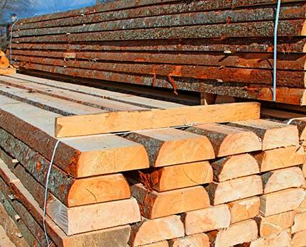 Bauholz Blockware von Holz-Hauff in Leingarten