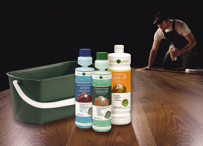 Bodenpflege von Clean-green bei Holz-Hauff in Leingarten