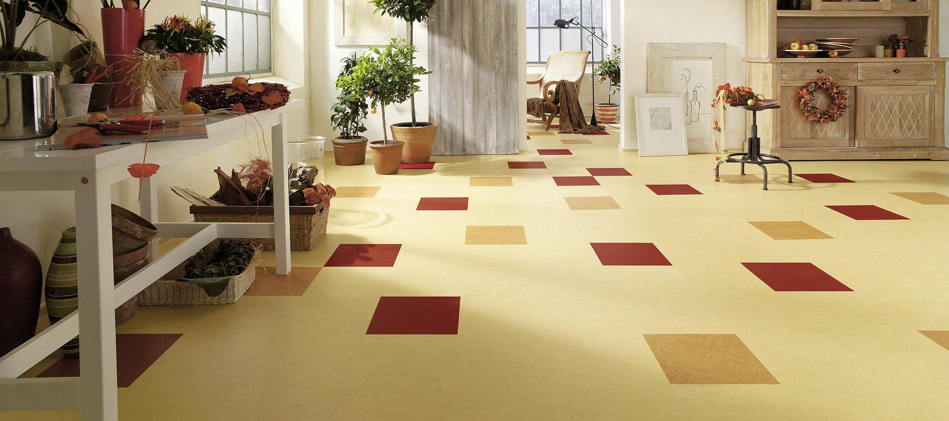 Designboden bunt von Holz-Hauff in Leingarten