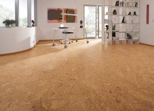 Korkboden im Büro mit Holz-Hauff in Leingarten