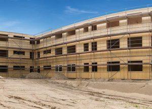 Brettschichtholz Fassade von Holz-Hauff in Leingarten