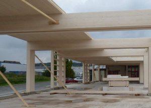 Stabiles Brettschichtholz von Holz-Hauff in Leingarten