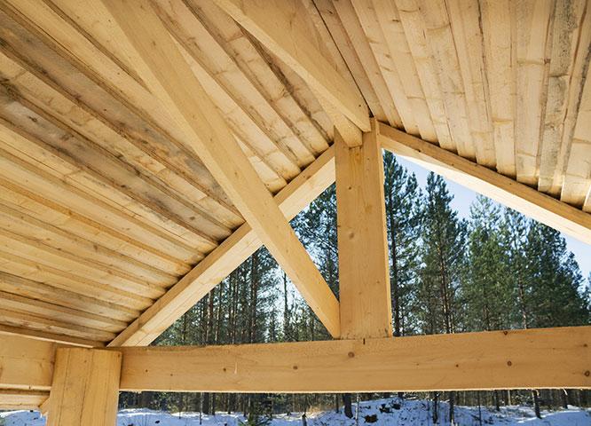 Individuelle Carports aus Holz bei Holz-Hauff in Leingarten