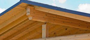 Carports Dach Detailansicht von Holz-Hauff in Leingarten