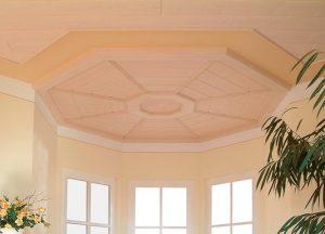 Echtholzpaneele Decke Design bei Holz-Hauff in Leingarten