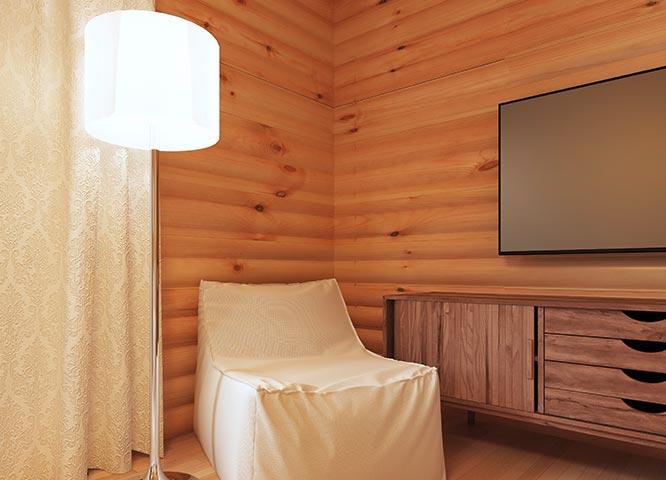 Echtholzpaneele Wandverkleidung bei Holz-Hauff in Leingarten