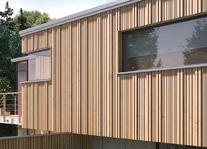 Bauen mit Fassaden von Holz-Hauff in Leingarten