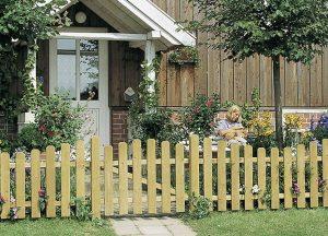 Gartenzäune Vorgarten von Holz-Hauff in Leingarten
