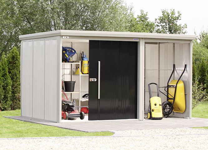 Geräumige Gerätehäuser im Garten von Holz-Hauff in Leingarten
