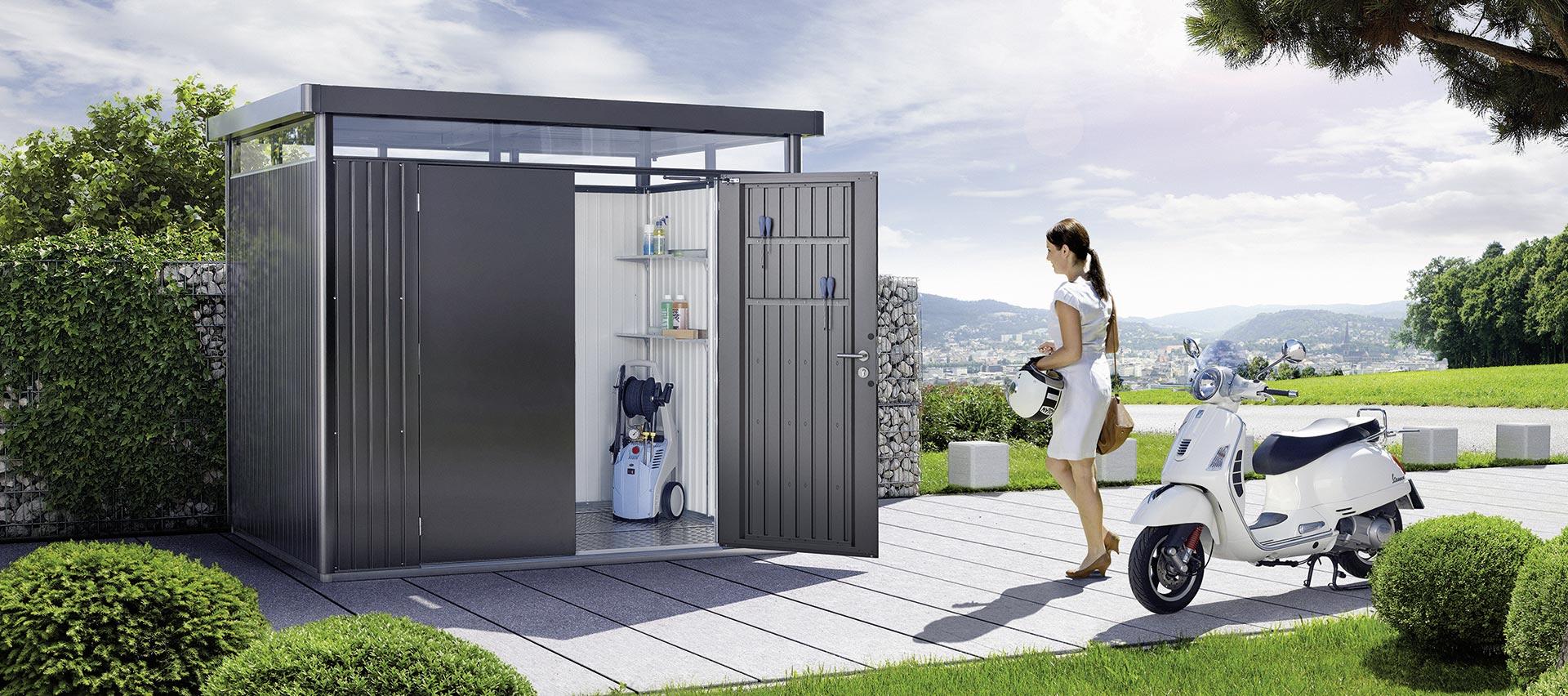 Gartenhäuser Metall von Holz-Hauff in Leingarten