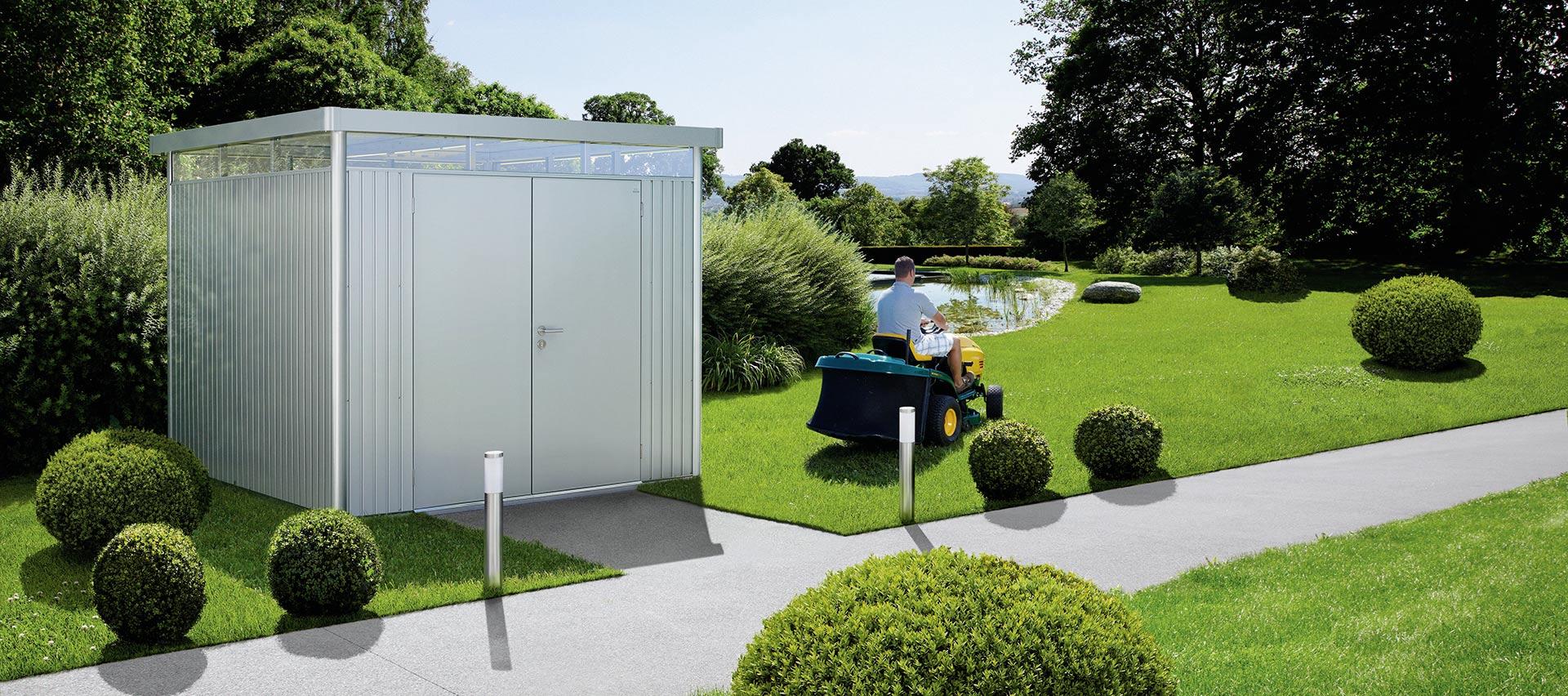 Gartenhäuser helles Metall von Holz-Hauff in Leingarten