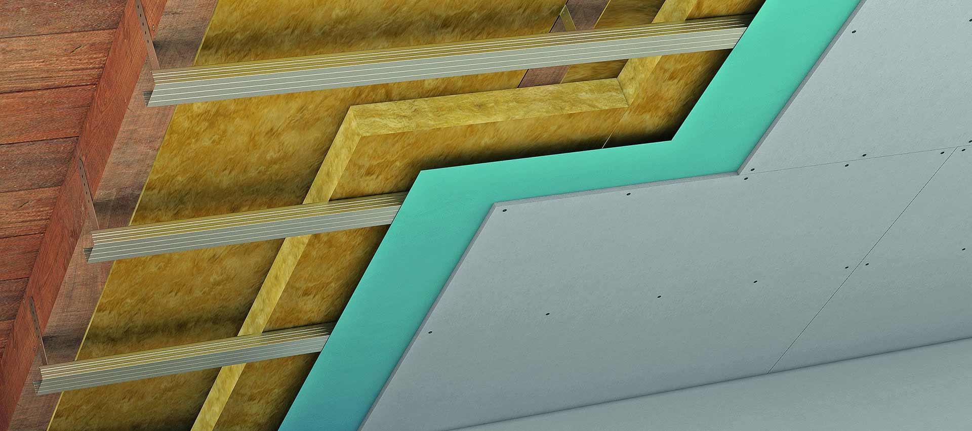 Gipsfaserplatten Decke von Holz-Hauff in Leingarten