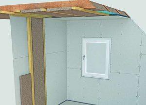 Gipsfaserplatten robuste Innenverkleidung von Holz-Hauff in Leingarten