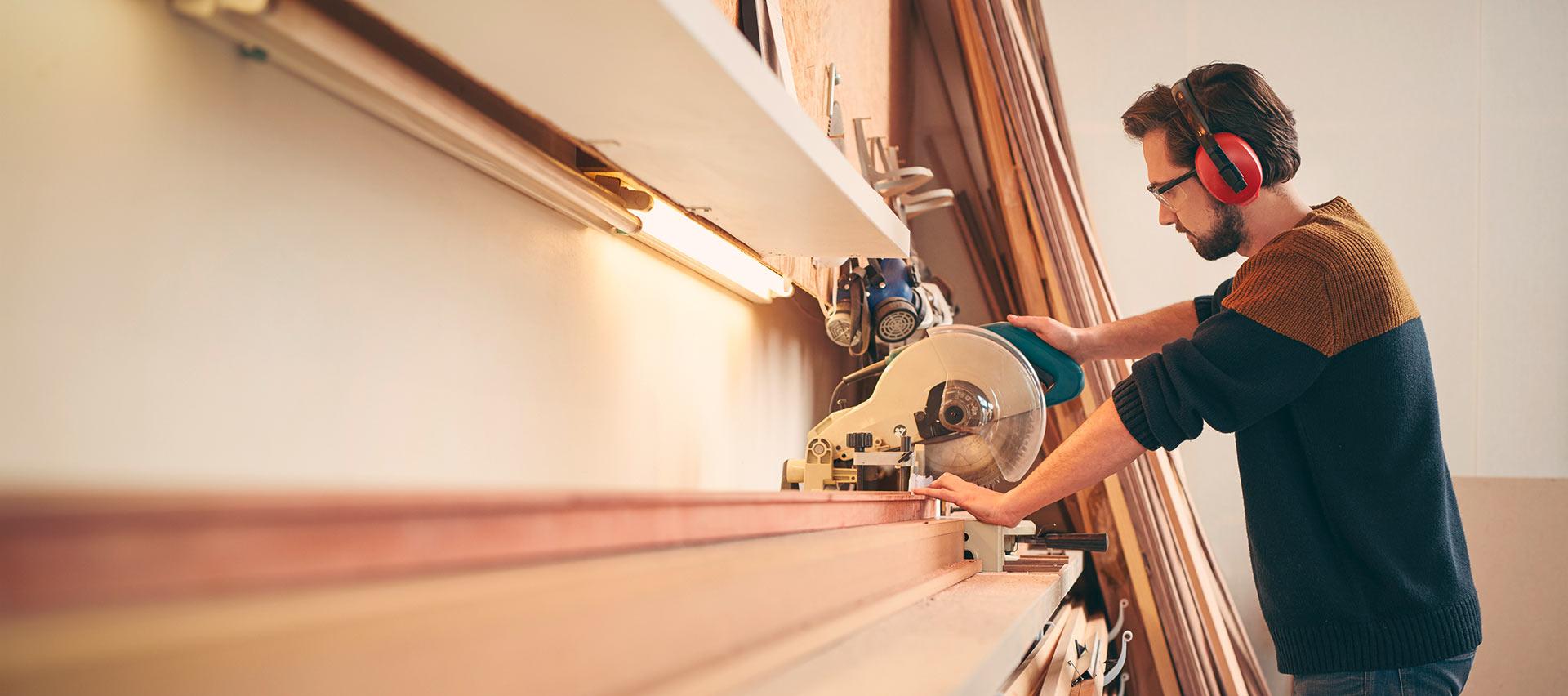 Professioneller Handwerkerservice für Handwerker bei Holz-Hauff