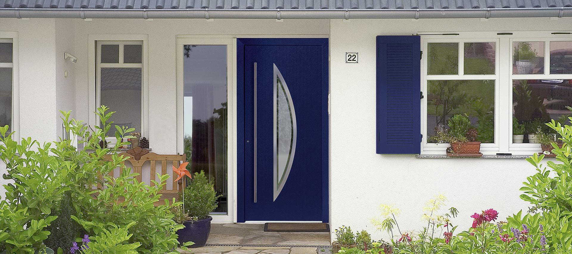 Haustüren farbig bei Holz-Hauff in Leingarten