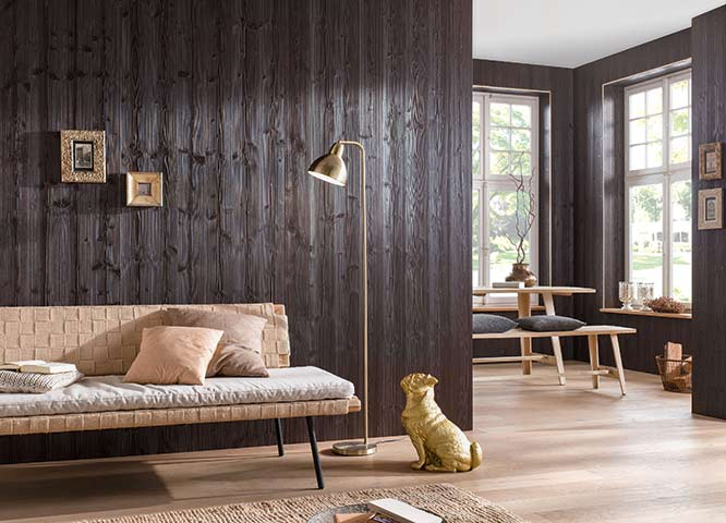 Hobelware dunkle Profilbretter von Holz-Hauff in Leingarten