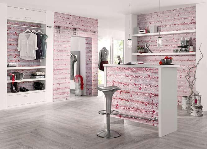 Hobelware rosa Profilbretter von Holz-Hauff in Leingarten