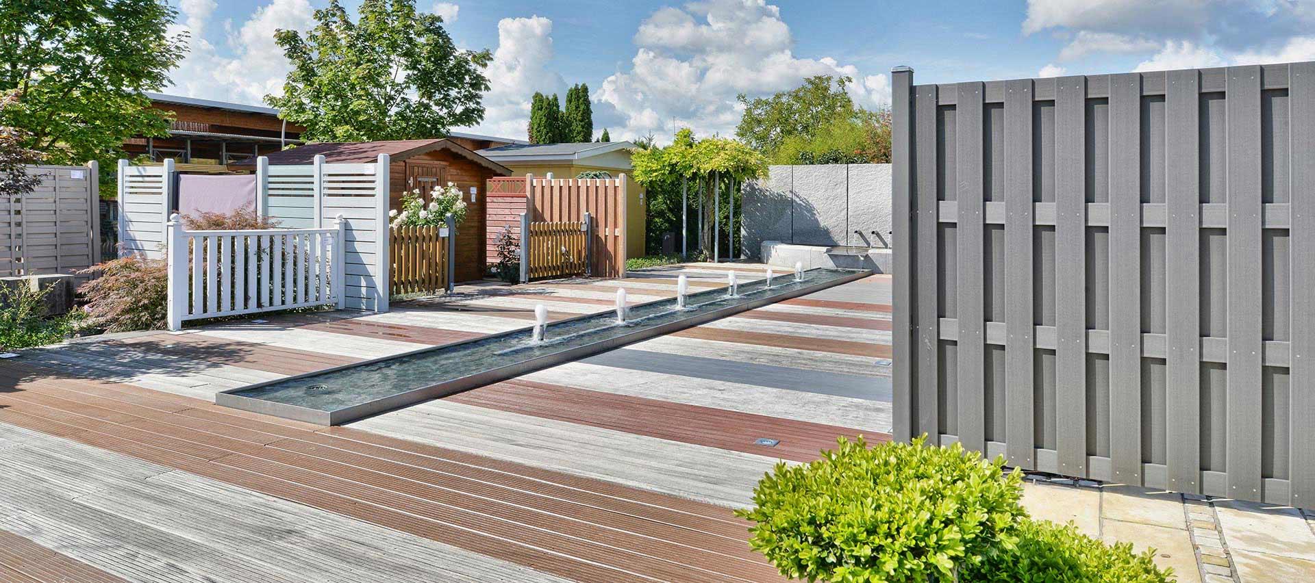 Garten Ausstellung von Holz-Hauff in Leingarten