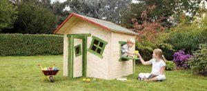 Spielgeräte Gartenhaus von Holz-Hauff in Leingarten