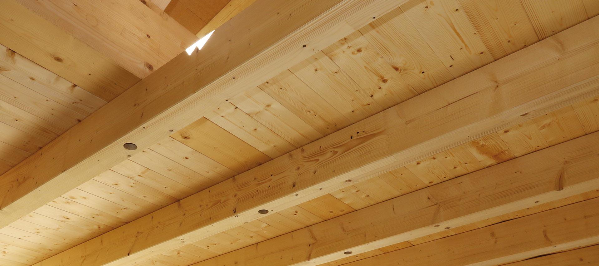 Konstruktionsvollholz für Decken von Holz-Hauff in Leingarten