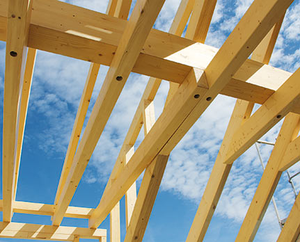 Bauholz Konstruktionsvollholz von Holz-Hauff in Leingarten