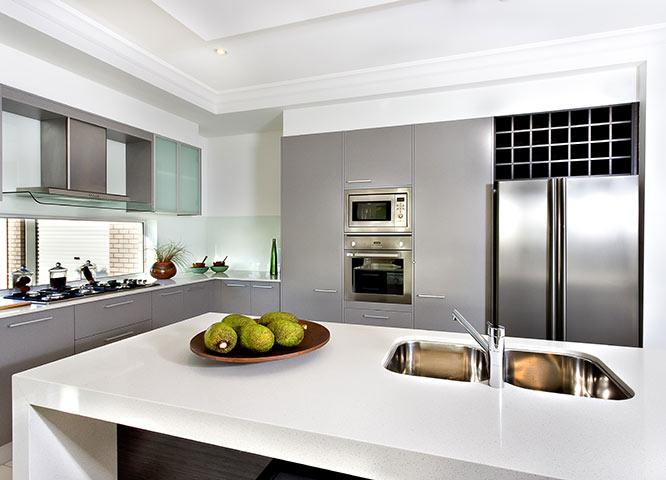 Küchenarbeitsplatten weiß bei Holz-Hauff in Leingarten