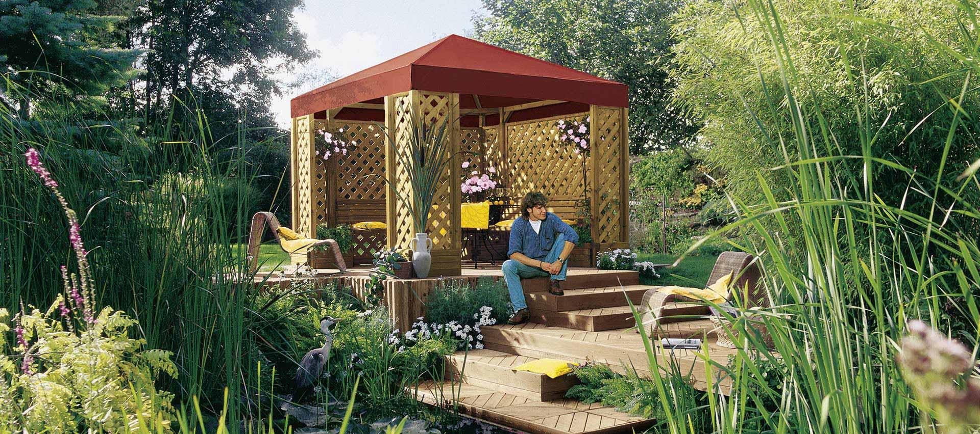 Gartenordnung Pavillon von Holz-Hauff in Leingarten