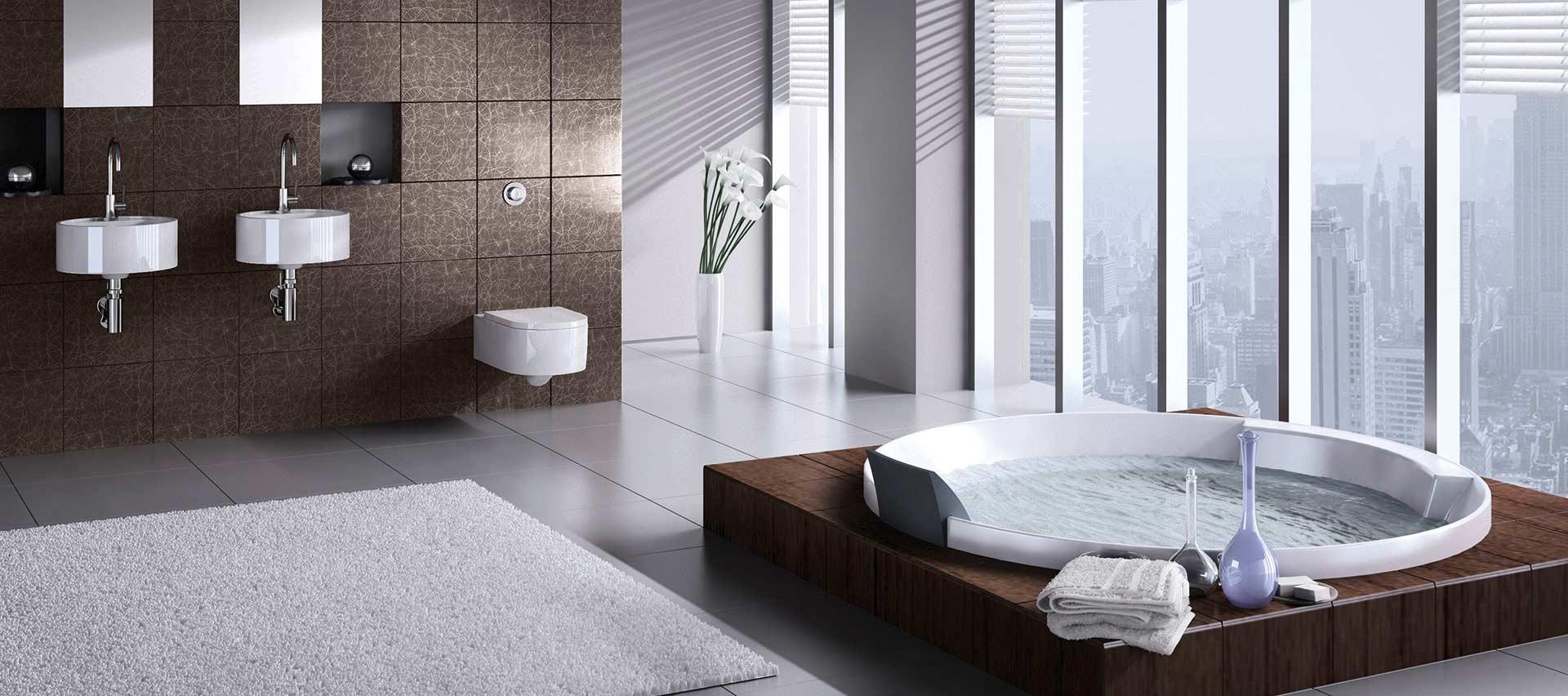 Schichtstoffplatten im Bad bei Holz-Hauff in Leingarten