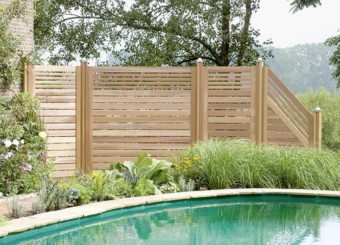 Sichtschutzzäune individuell von Holz-Hauff in Leingarten