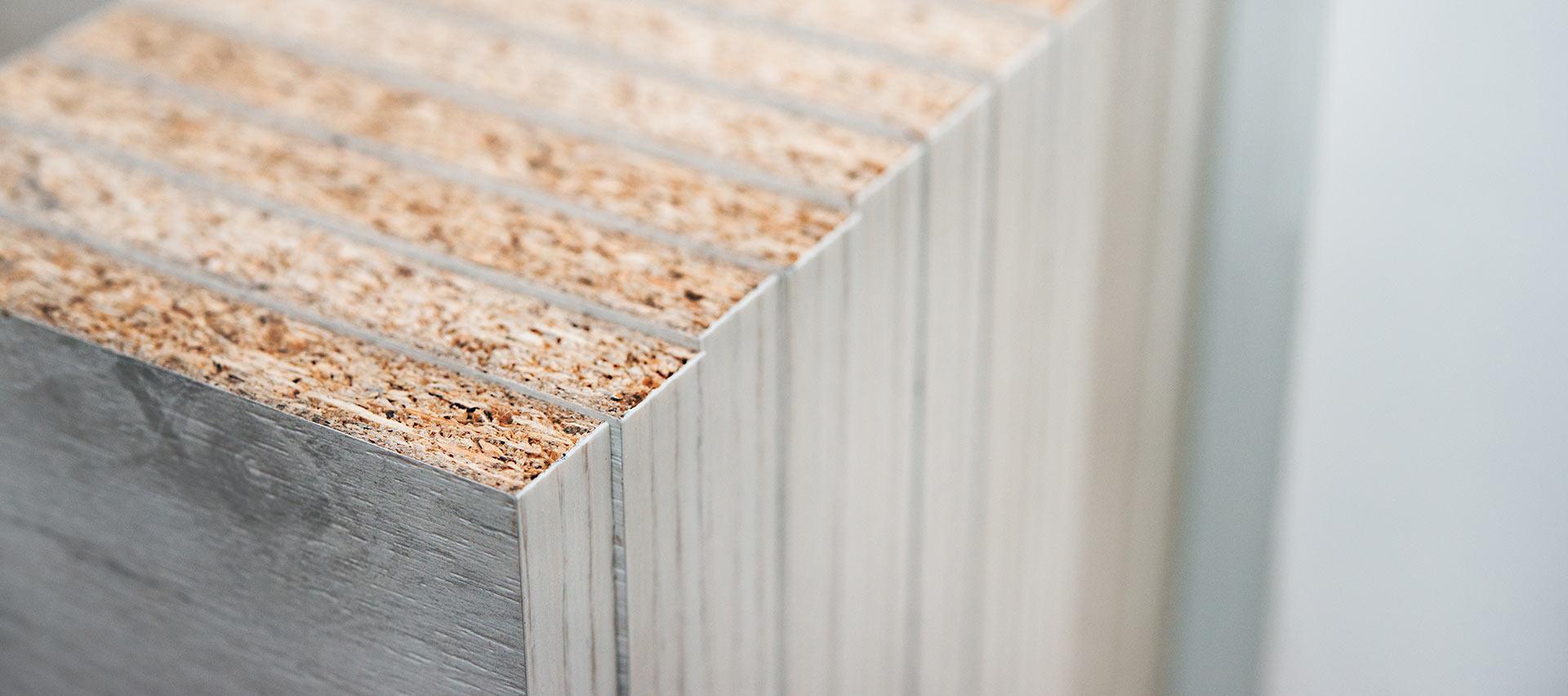 Bauen mit grauen Spanplatten von Holz-Hauff in Leingarten