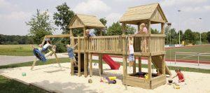 Spielgeräte Spielturm von Holz-Hauff in Leingarten