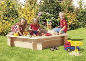 Spielgeräte Sandkasten von Holz-Hauff in Leingarten