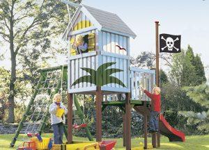 Spielgeräte Spielturm Piraten von Holz-Hauff in Leingarten
