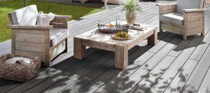 Terrassendielen grau von Holz-Hauff in Leingarten