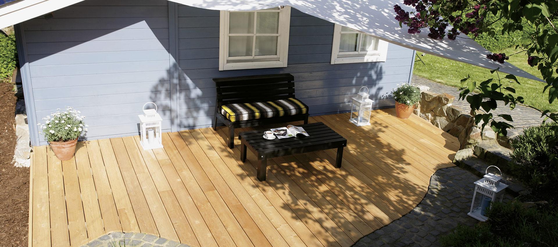 Garten | Perfekt ausgestattet mit Holz-Hauff