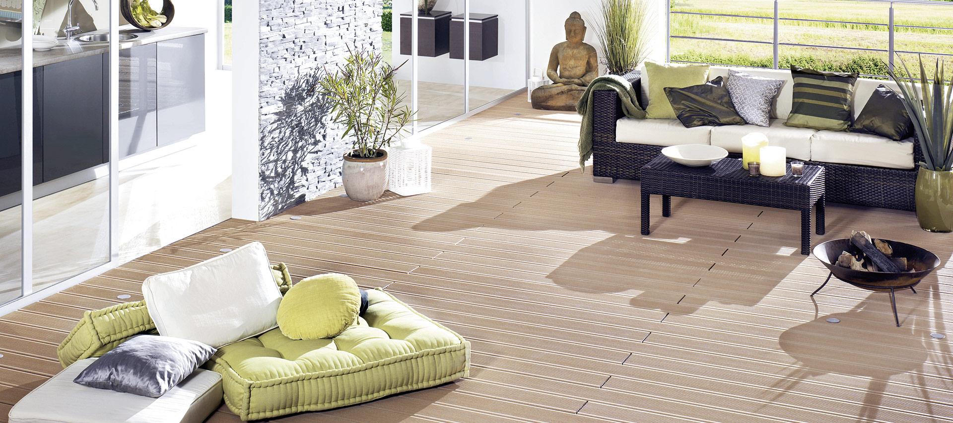 Terrassendielen vom Holzfachhandel Holz-Hauff in Leingarten