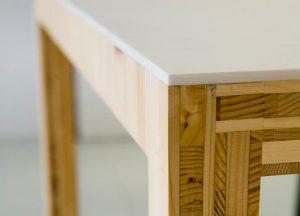 Tischlerplatten Tisch Detail von Holz-Hauff in Leingarten