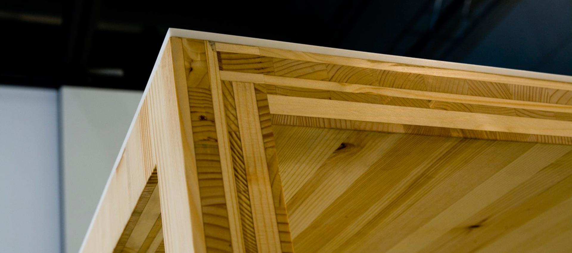 Tischlerplatten Tisch von Holz-Hauff in Leingarten