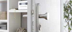Sicherheitstüren Detail bei Holz-Hauff in Leingarten