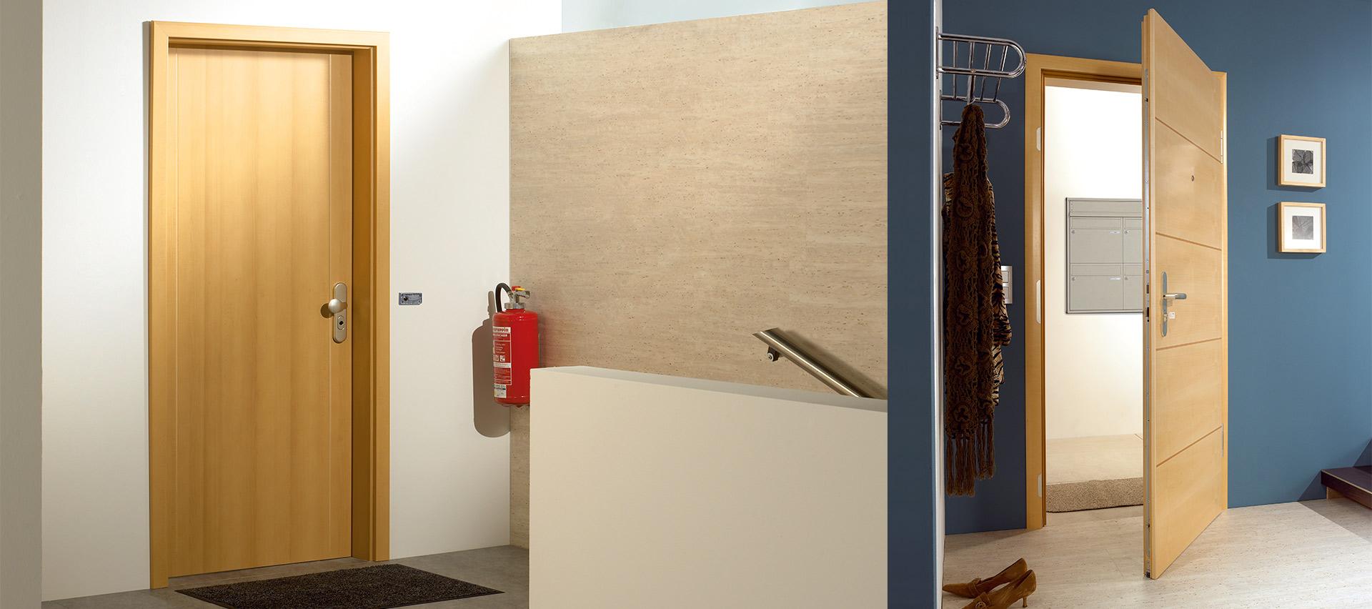 Wohnungseingangstüren aus Holz bei Holz-Hauff in Leingarten